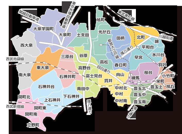 地図から検索|練馬区医師会